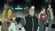 Shiro, Keith, Lance, Pidge and Hunk (Ep. 1)