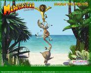 Dreamworks' Madagascar (2004) Official Site poster