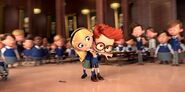 Mr. Peabody and Sherman Sherman and Penny Peterson headlock fight 7272881