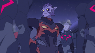 Commander Gnov in Kral Zera