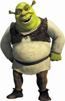 Shrek personaje