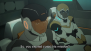 Hunk and Kinkade on the Mission
