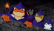 Darel, Dingo and Xava with Falgha
