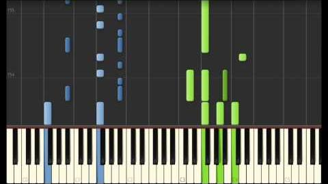 Dragon Racing - How To Train Your Dragon 2 (Synthesia Piano)