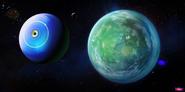 Home Concept - Boov ship going to a planet