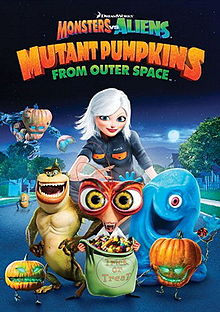 Monsters vs. Aliens Mutant Pumpkins from Outer Space DVD cover
