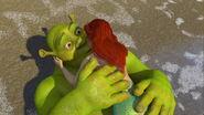 Shrek kissed Ariel 5