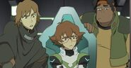 Pidge, Matt and Hunk