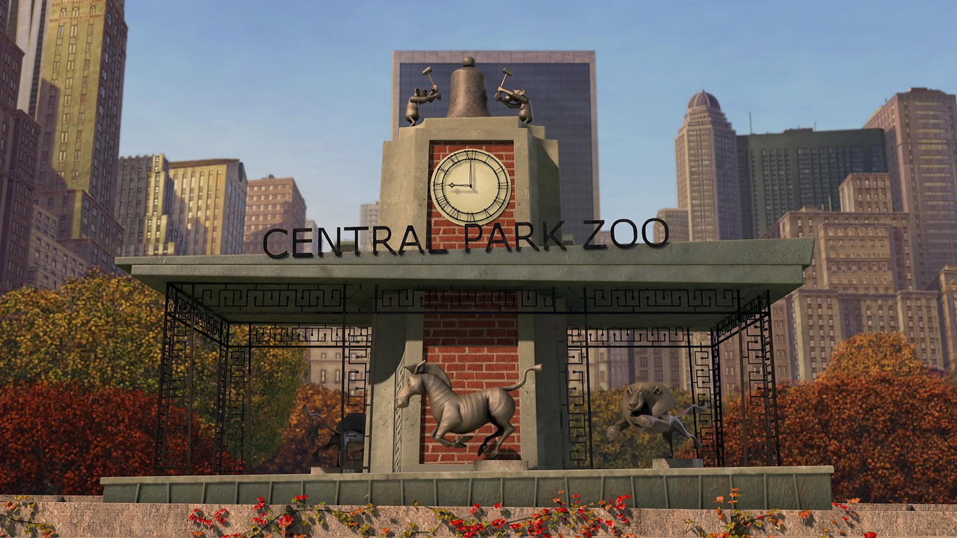 Central Park Zoo Dreamworks Animation Wiki Fandom