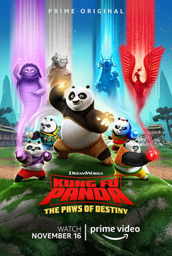 KFP - The Paws of Destiny - Poster