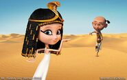 Penny Peterson and King Tut 82929202023