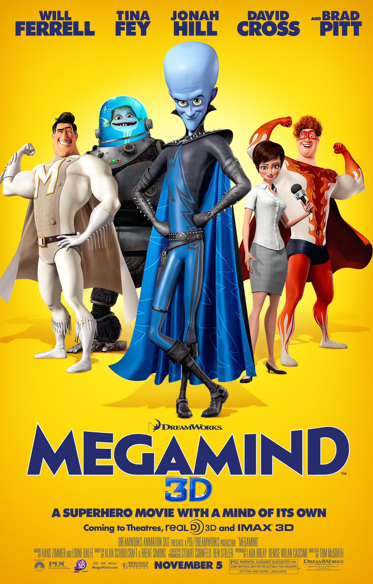 Megamind (film)   Dreamworks Animation Wiki   FANDOM powered by Wikia