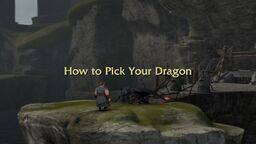 How to Pick Your Dragon title card