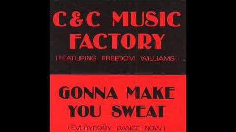 C+C Music Factory - Gonna Make You Sweat (Everybody Dance Now) **HQ Audio**