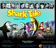 Dreamworks' Shark Tale (2004) official site poster