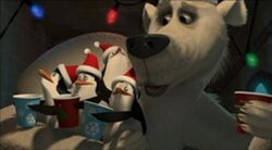 258px-PenguinsWithTedThePolarBear