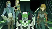 Pidge, Matt, Rolo, Nyma and Beezer (Season 5)