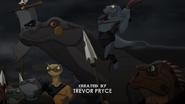 Lizard Mercenary ride with its komodo dragon