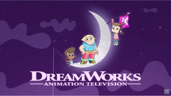 DreamWorks Animation Television logo (Harvey Street Kids variant)