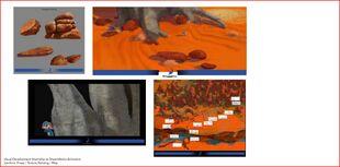 Larrikins visual development