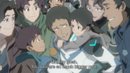 Lance and his Family