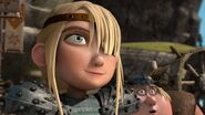 Astrd realizing Hiccup threw the race