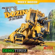 Dozer's It's Dozin' Time poster