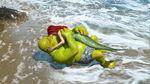 Shrek kissed Ariel 2