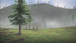 When Darkness Falls title