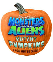 Monsters vs. aliens mutant pumpkins