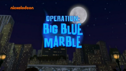 Operation Big Blue Marble title