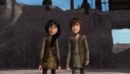 Heather and Hiccup