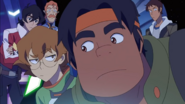 Pidge, Lance, Keith, Coran and Hunk