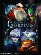 Rise of the Guardians - character poster