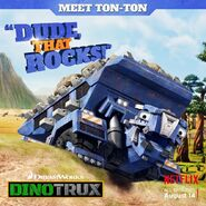 Ton-Ton's Dude That Rocks poster