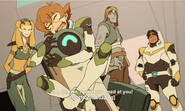 Pidge and Hunk meet Rolo, Nyma and Beezer again
