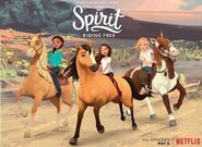 Spirit - Riding Free Banner