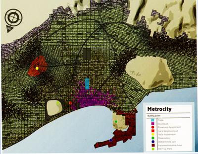 Metro City Map