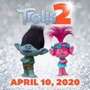 The First Poster For Trolls 2