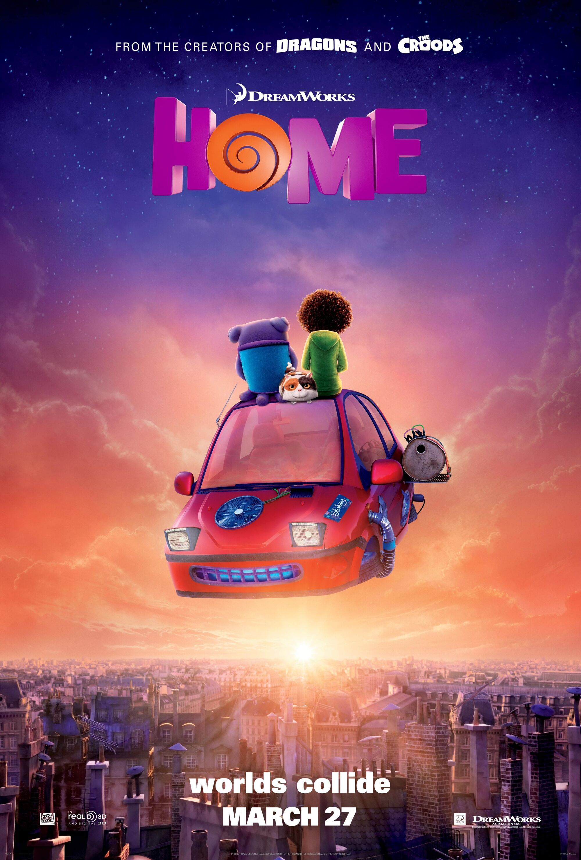 Kyle home dreamworks animation wiki fandom powered by wikia - Home Teaser Poster