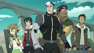 Lance, Keith, Shiro, Pidge and Hunk on Arus