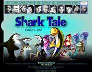 Dreamworks' Shark Tale (2003) Ernie the Jellyfish official site teaser poster
