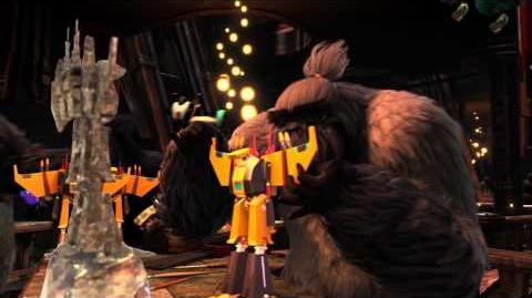 """RISE OF THE GUARDIANS - """"Santa's Toy Factory"""" (Clip)"""