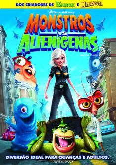 Monstros aliens fdvd300