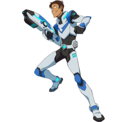Lance's Paladin Uniform
