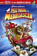 Feliz Natal Madagascar - Pôster Nacional