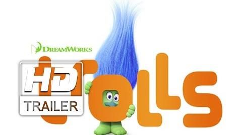 Trolls Trailer Oficial Dublado HD