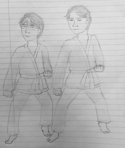 File:Jirou and Shinichi practice.JPG
