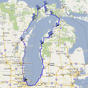 Ride-around-the-lake-map