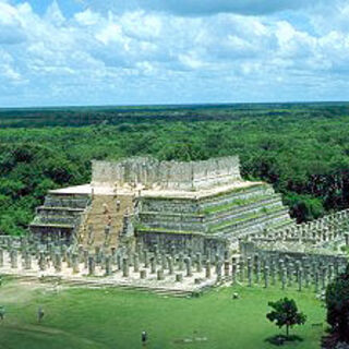 Temple of The Warriors—Chichén Itzá